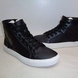 Steve Madden THEO Black New Mens Fashion Sneakers